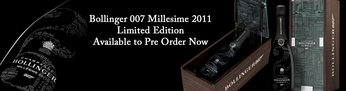 Bollinger 007 Millesime 2011 Limited Edition