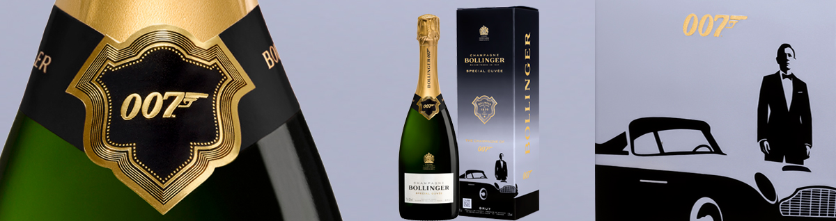 New Release Bollinger Special Cuvee 007 Limited Edition NV