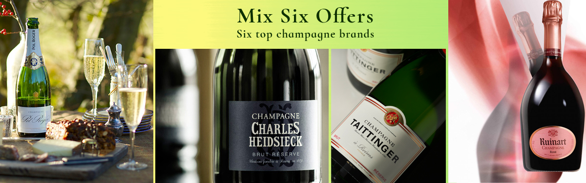 Champagne special offers for August