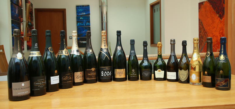 Are Vintage Champagnes as Good as Prestige Cuvee's - Join us & find out!