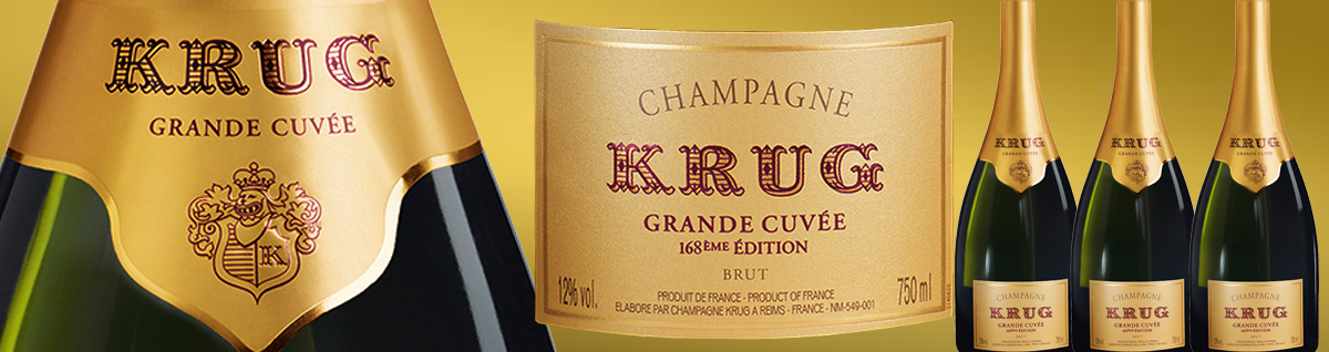 Krug Grande Cuvee 168th Edition - New Release