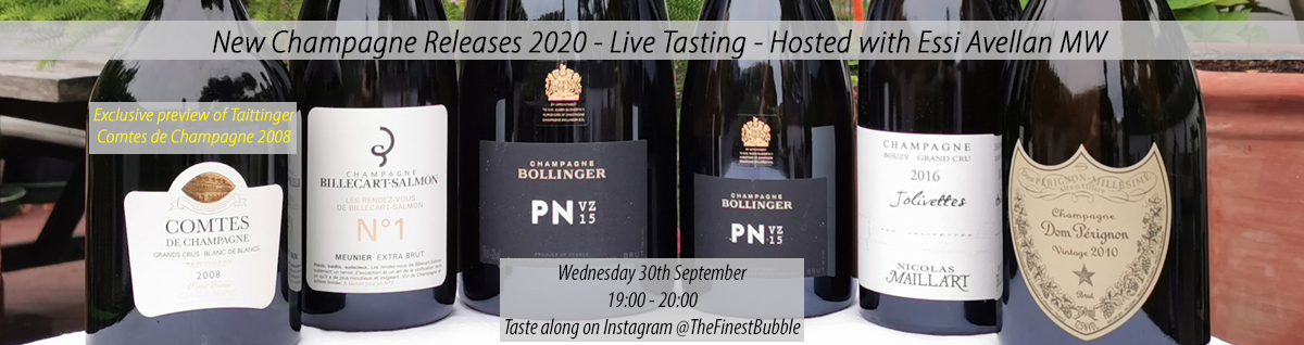 New Releases Live Tasting - 30th September 2020