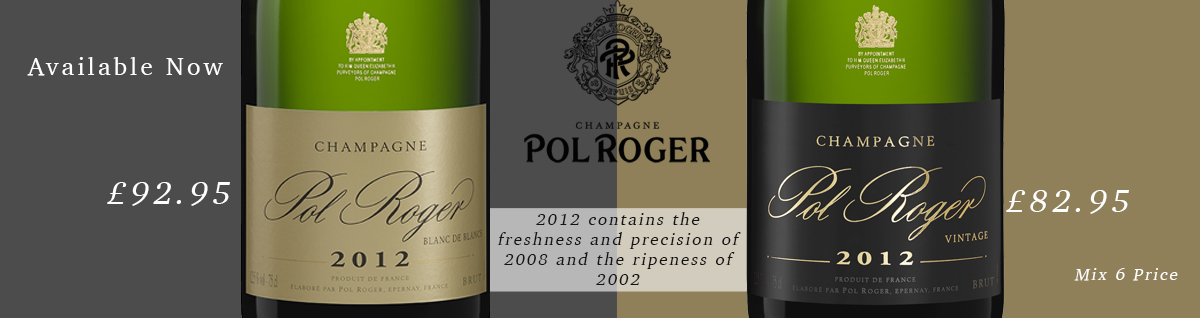 Pol Roger 2012 and Blanc de Blancs 2012