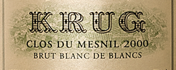 Investing in Krug Clos Du Mesnil 2000