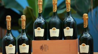Tasting of Six Vintages of Taittinger Comtes de Champagne