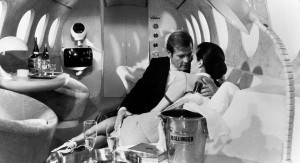 Bollinger Ice Bucket and Champagne shown in this James Bond movie