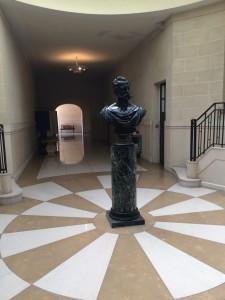 Tzar Alexander II statue