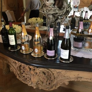 Bottles at lunch: Ramos Pinto 1995, Chateau du Pez 2009, Cristal 2007, Cristal 1993, Rosé 2008, Brut Nature 2006