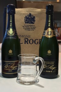 Pol Roger Sir Winston Churchill 2004 & Vintage 2004