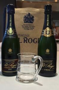 Pol Roger Sir Winston Churchill 2004 & Vintage 2004
