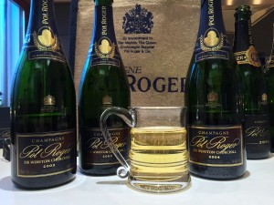 Pol Roger Sir Winston Churchill 2002 & 2004 with Pol Roger tankard