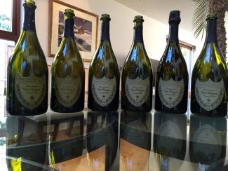 Dom Perignon Vertical 6 Vintages
