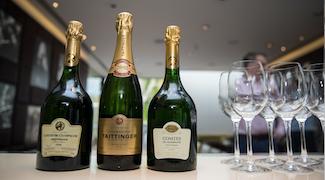 Taittinger Comtes de Champagne Vertical Tasting