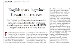 Anne Krebiehl MW - English Sparkling Wines