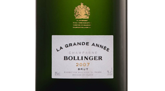 Release of Bollinger Grande Année 2007 and Vertical Tasting