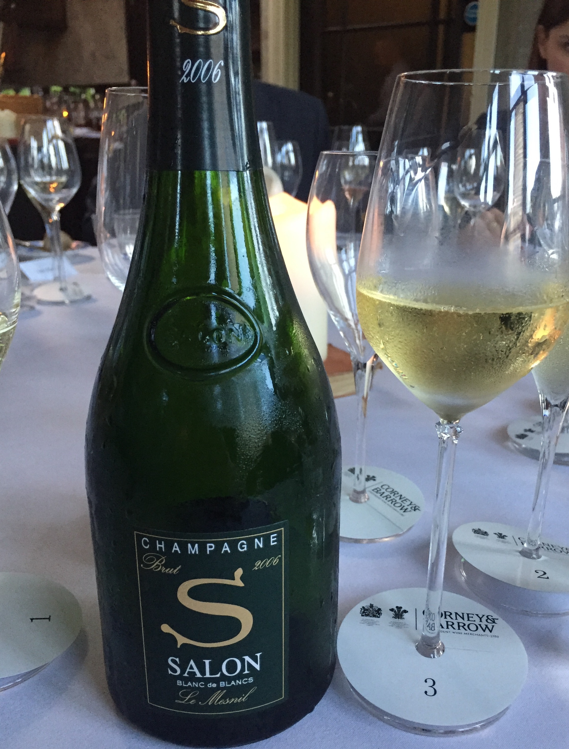 Salon Le Mesnil Blanc de Blancs 2006 - Buy Champagne same day 2 ...