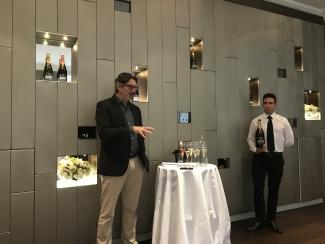 Head winemaker Benoît Gouez introduces new Moet & Chandon 2009