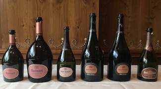 Dom Ruinart Ros� Vertical Tasting
