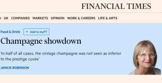 Financial Times - Jancis Robinson - Champagne Showdown