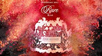 Piper-Heidsieck: New Rare Rosé 2007