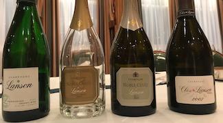 Lanson Noble Cuvée Brut 2002 & Organic Champagne 'Green Label'