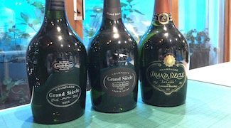Laurent-Perrier Grand Siècle Vertical Tasting