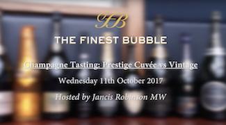 Video: Prestige Cuv�e vs Vintage Tasting with Jancis Robinson