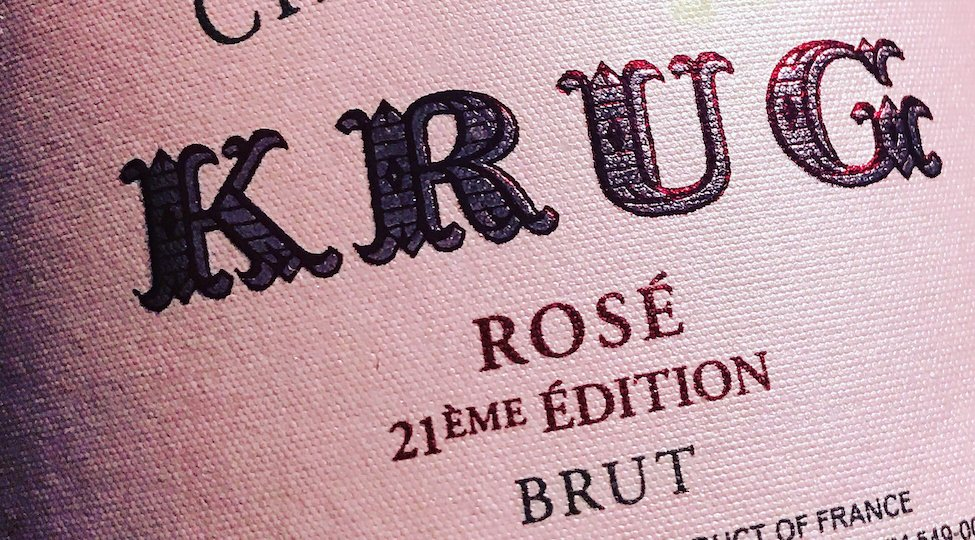 Krug Rosé Will Now Display Editions: Krug Rosé Edition 21 NV Is The First