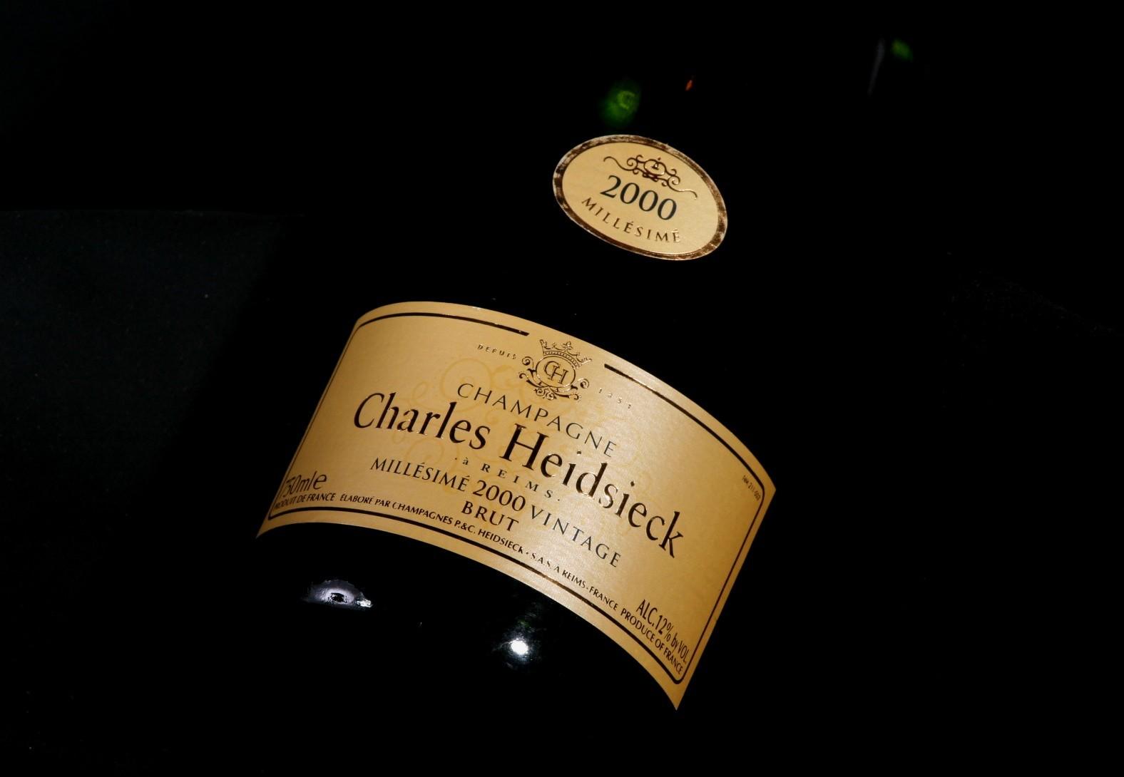Confirm. Charles heidsieck vintage