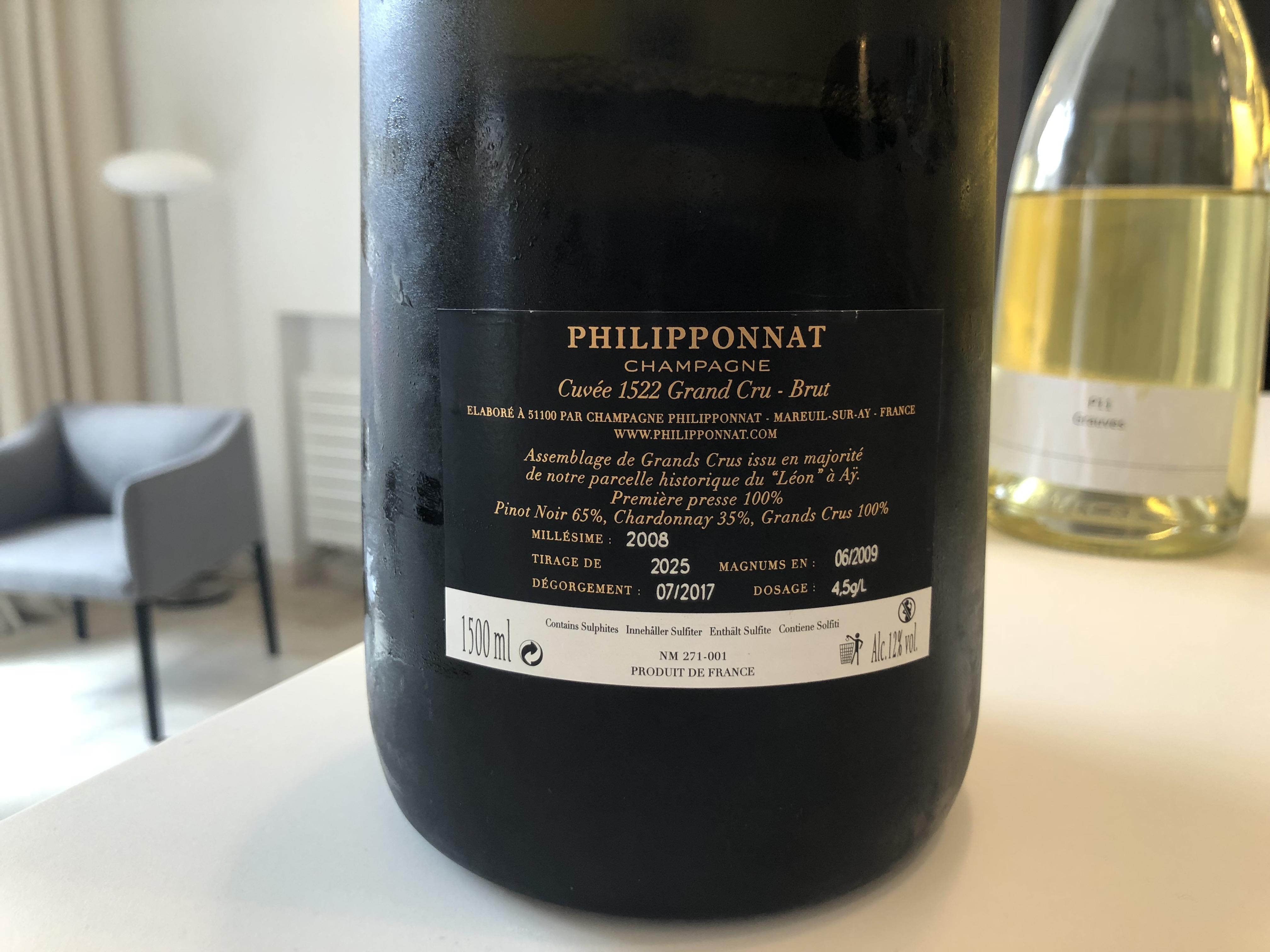 Philipponnat: 2017 Vins Clairs and new Clos des Goisses 2009