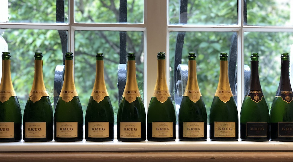 Krug Grande Cuvée Vertical Tasting: Editions 158-166 NV (2002-2010)