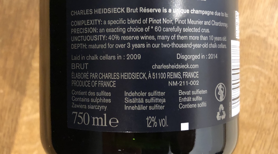 The Importance of Base Year in Non-Vintage Champagne