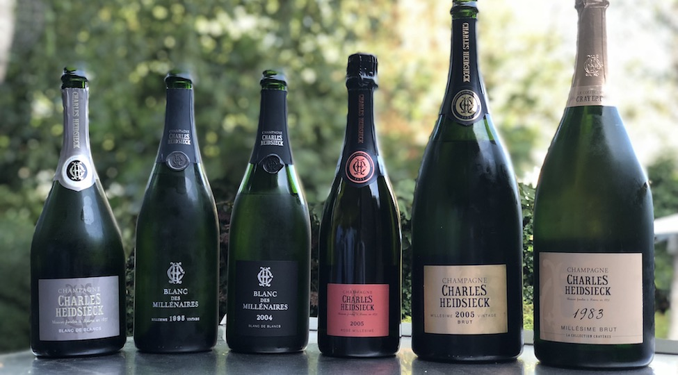 Charles Heidsieck Dinner with Stephen Leroux