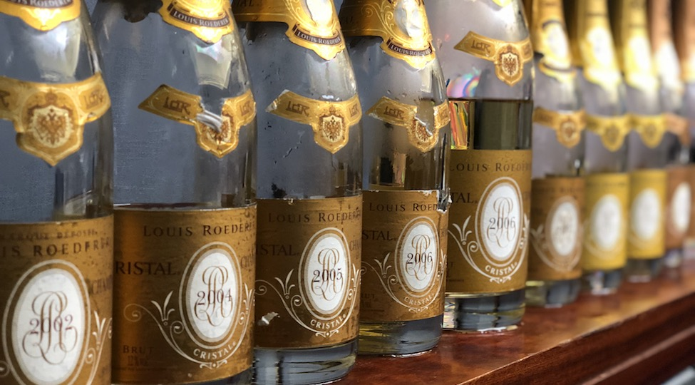 Review: Louis Roederer Cristal Vertical Tasting