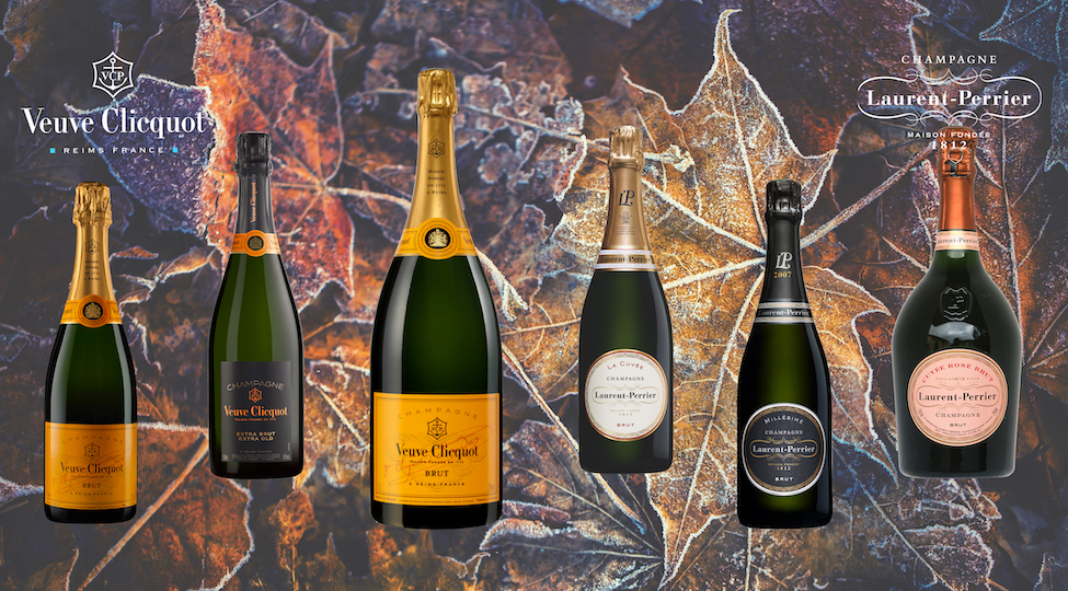 Laurent-Perrier and Veuve Clicquot Special Offers