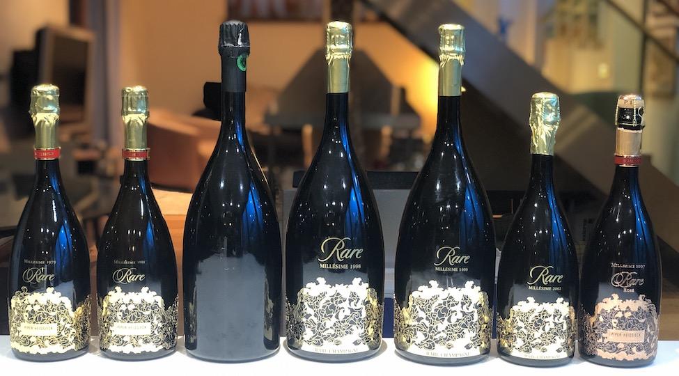 Rare Champagne Vertical Tasting