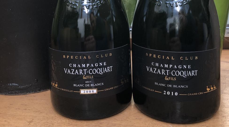 New Release: Vazart-Coquart Blanc de Blancs Special Club 2010