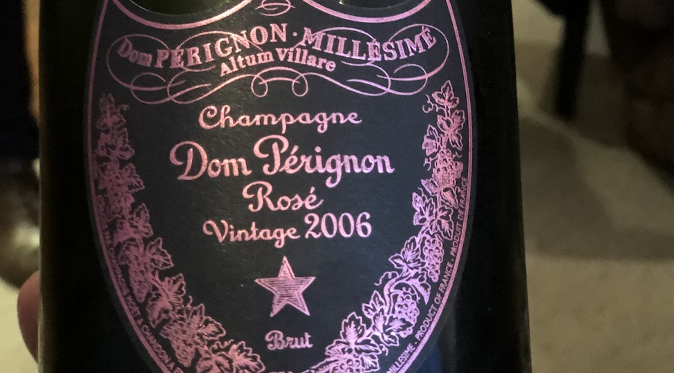 New Release: Dom Pérignon Rosé 2006
