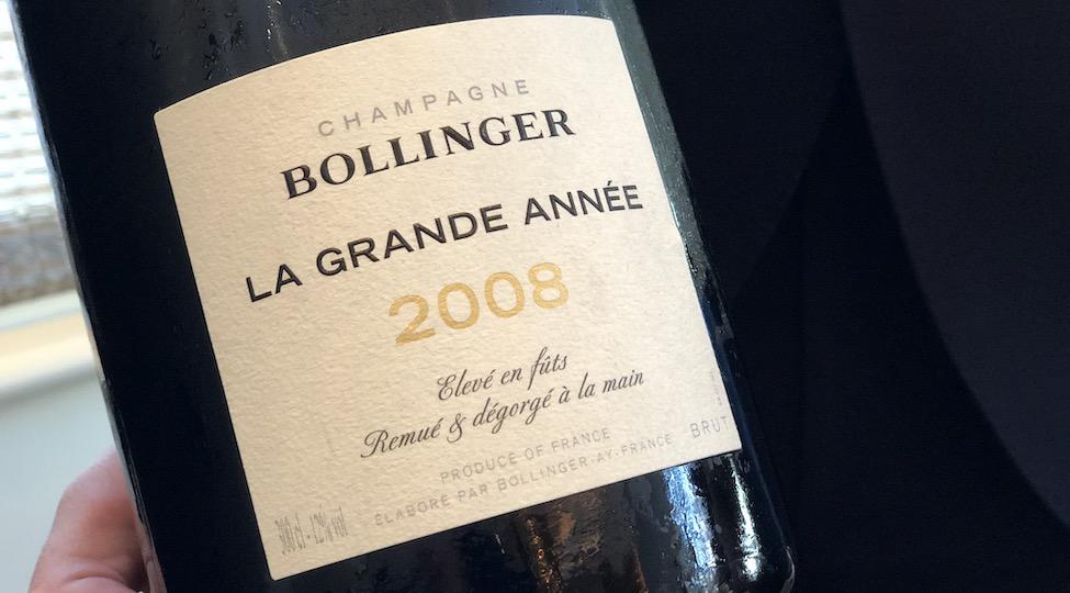 New: Bollinger La Grande Année 2008