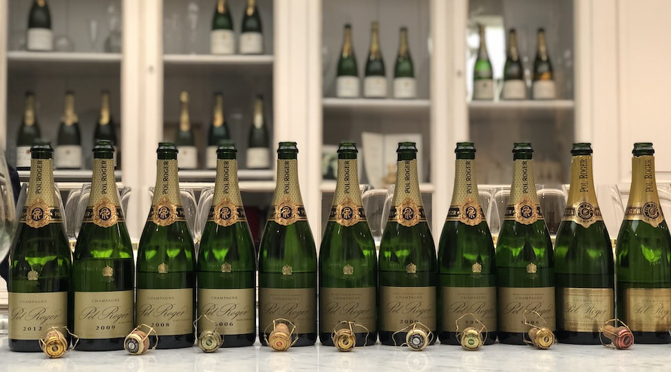 Pol Roger: 2018 Vins Clairs Tasting and Blanc de Blancs Vertical 2012-1986