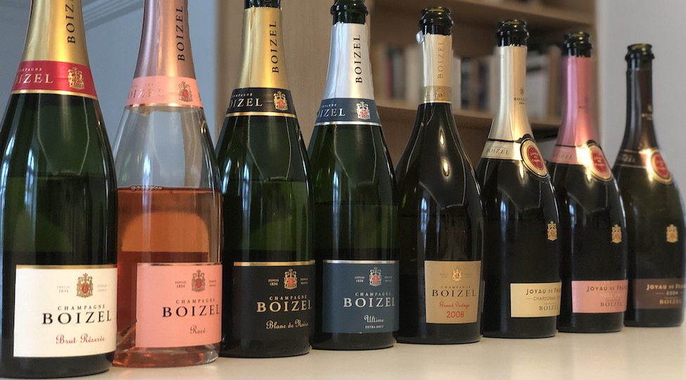 Champagne Boizel: 2018 Vins Clairs and Champagne Range Tasting