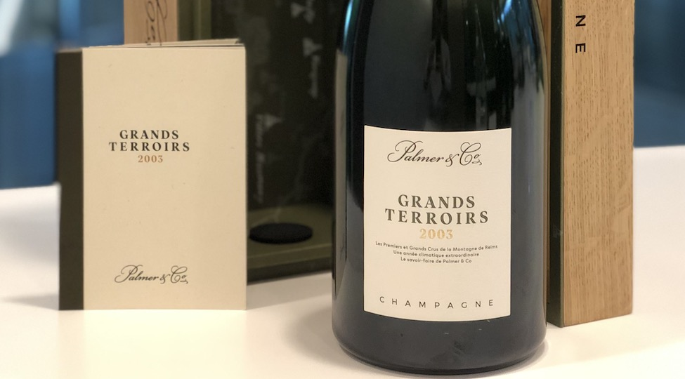 New Limited Edition Champagne: Palmer & Co Grands Terroirs 2003