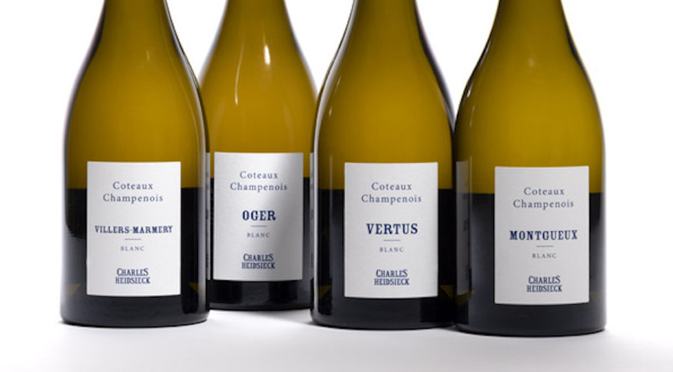 Charles Heidsieck release range of Coteaux Champenois 2017 blancs
