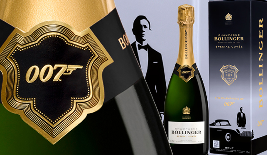 New Release: Bollinger Special Cuvee 007 Limited Edition NV