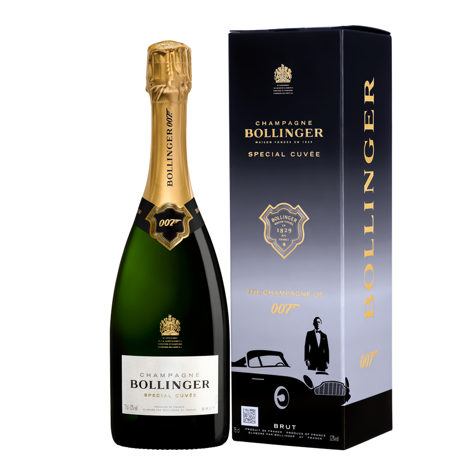 New Release: Bollinger Special Cuvee 007 Limited Edition