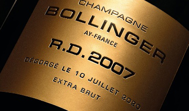 Bollinger R.D. 2007 Extra Brut New Release