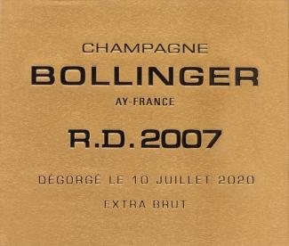 2007 Returns to Original 1951 R.D. Label Style