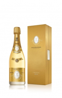 Louis Roederer Cristal 2013 bottle and box