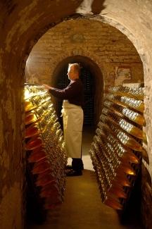 Louis Roederer cristal cellar