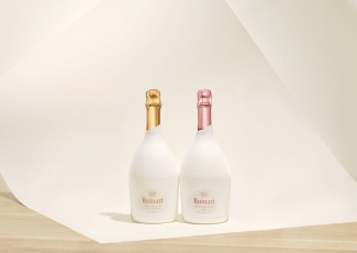 Ruinart Blanc de Blancs and Rose Second Skin